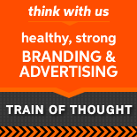 Train of Thought branding and marketing